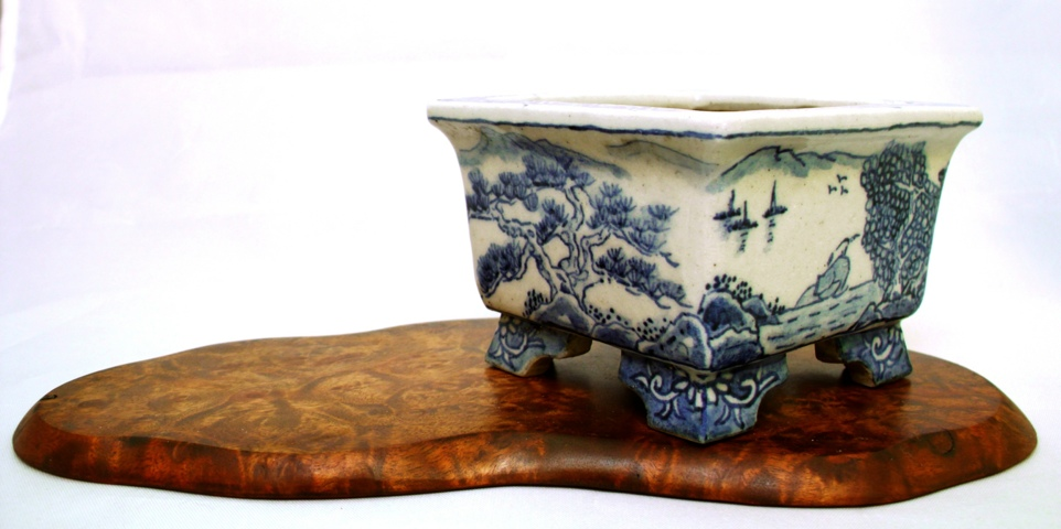 from my collection 9 japanese bonsai pots